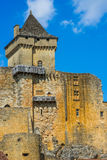 Castle of castelnaud la chapelle france Stock Photos