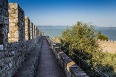 Castle of Castiglione del lago, Trasimeno, Italy Royalty Free Stock Images