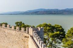 Castle of Castiglione del lago, Trasimeno, Italy Stock Image