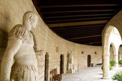 Castle Castillo de Bellver dans Majorca Image libre de droits