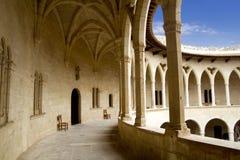 Castle Castillo de Bellver in Majorca Immagine Stock Libera da Diritti