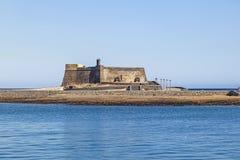 Castle Castillo de SAN Gabriel Στοκ φωτογραφία με δικαίωμα ελεύθερης χρήσης