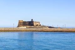 Castle Castillo de SAN Gabriel Στοκ φωτογραφίες με δικαίωμα ελεύθερης χρήσης