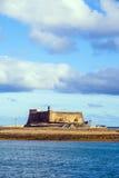 Castle Castillo de San Gabriel in Arrecife, Lanzarote Royalty Free Stock Photo