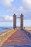 Castle Castillo de San Gabriel Royalty Free Stock Photography