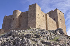 Castle. Castillo de Segura de la Sierra Royalty Free Stock Photography