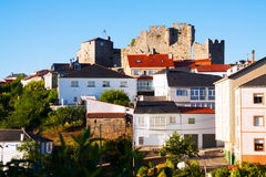 Castle of Castro Caldelas Royalty Free Stock Photos