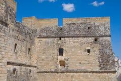 Castle of Castro. Puglia. Italy. Royalty Free Stock Photos