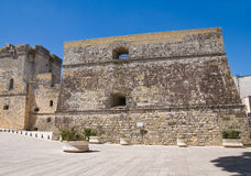 Castle of Castro. Puglia. Italy. Royalty Free Stock Photography
