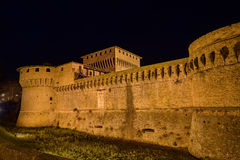 Castle of Caterina Sforza in Forli, Emilia Romagna, Italy Royalty Free Stock Photo