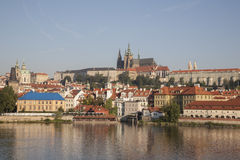 Castle and Cathedral, Prague Stock Images