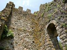 Castle of Catoira - Pontevedra Royalty Free Stock Image
