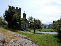 Castle of Catoira - Pontevedra Stock Image