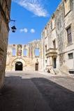 Castle of Cavallino. Puglia. Italy. Royalty Free Stock Photography