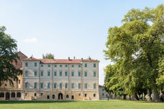 Castle Cavour of Santena Stock Photography