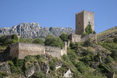 Castle in Cazorla; Andalusia Stock Photos