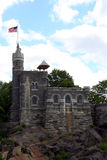 Castle at Central Park Royalty Free Stock Photography