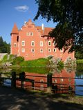 Castle Cervena lhota Royalty Free Stock Photos