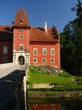 Castle Cervena lhota Royalty Free Stock Photography
