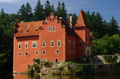 Castle Cervena Lhota Stock Photo
