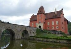 Castle Cervena Lhota. Ancient castle Cervena Lhota in Czech republic Stock Image