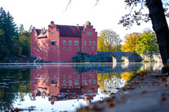 Castle Cervena lhota royalty free stock photo