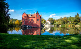castle Cervena lhota stock photography