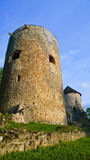 Castle in Cesis Royalty Free Stock Images