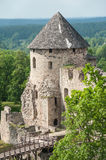 Castle in Cesis Stock Photo