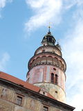 Castle of Cesky Krumlov Stock Images