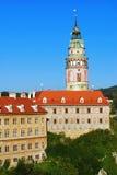 Castle of Cesky Krumlov Stock Image