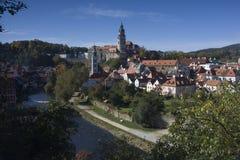 Castle in Cesky Krumlov Stock Photo