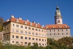 Castle of Cesky Krumlov Stock Photos