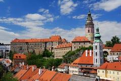 Castle Cesky Krumlov Royalty Free Stock Photography
