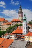 Castle Cesky Krumlov Royalty Free Stock Photo