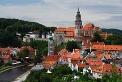 Castle Cesky Krumlov. Old castle Cesky Krumlov in Czech Republic Royalty Free Stock Image