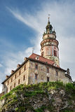 Castle of Cesky Krumlov, Bohemia Royalty Free Stock Images
