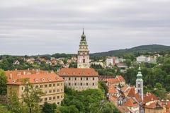 Castle Cesky Krumlov , Czech Republic Stock Photography