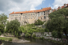 Castle cesky krumlov czech republic europe Stock Photo