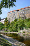 Castle in Cesky Krumlov, Czech Republic, UNESCO World Heritage Stock Images