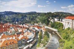 Castle in Cesky Krumlov, Czech Republic Stock Photography