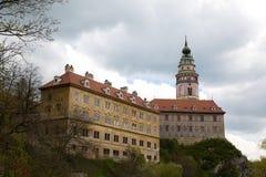 Castle in Cesky Krumlov Stock Image
