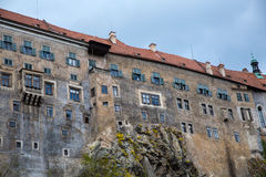 Castle in Cesky Krumlov Royalty Free Stock Image