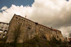 Castle in Cesky Krumlov Royalty Free Stock Images