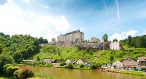 Castle Cesky Sternberk Stock Photo