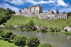 Castle Cesky Sternberk, Bohemia, Czech republic Stock Photos
