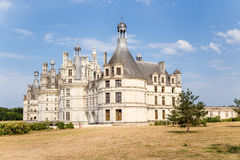 Castle Chambord, Γαλλία, 1519 - 1547 έτη Περιοχή παγκόσμιων κληρονομιών της ΟΥΝΕΣΚΟ Στοκ Φωτογραφία