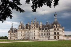 Castle of Chambord Stock Image