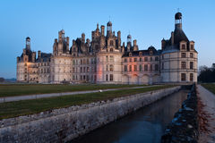 Castle Chambord Stock Photo