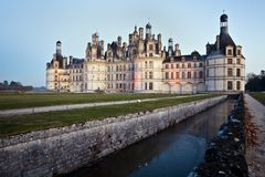 Castle Chambord Stock Image